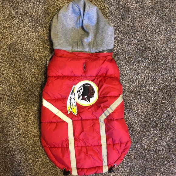 quality design b5858 82b24 FURocious Fan Redskins dog vest